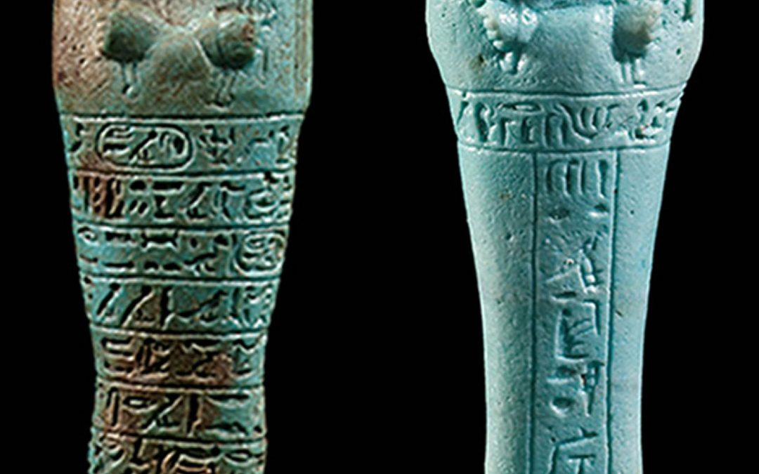 STOLEN ALERT: Look out for these ushabti, taken in Brussels